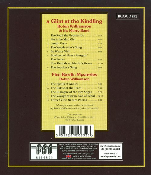 A Glint At The Kindling-Selected Writings
