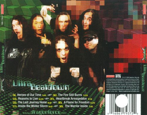 cd dragonforce ultra beatdown