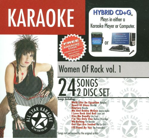 Karaoke: Women of Rock, Vol. 1