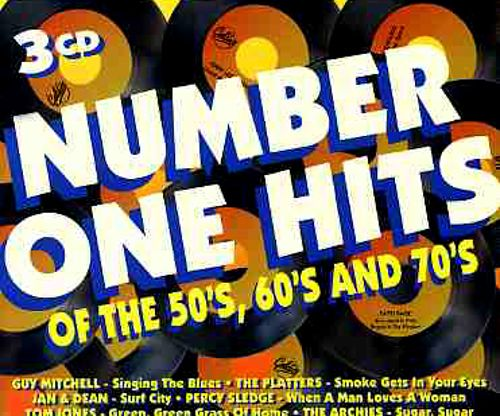 Number One Hits of the 50s, 60s and 70's