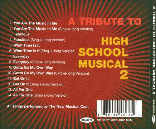 A Tribute to High School Musical 2