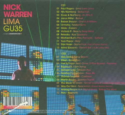 nick warren global underground prague