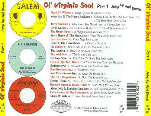 Ol' Virginia Soul, Pt. 1: Jump Up and Down