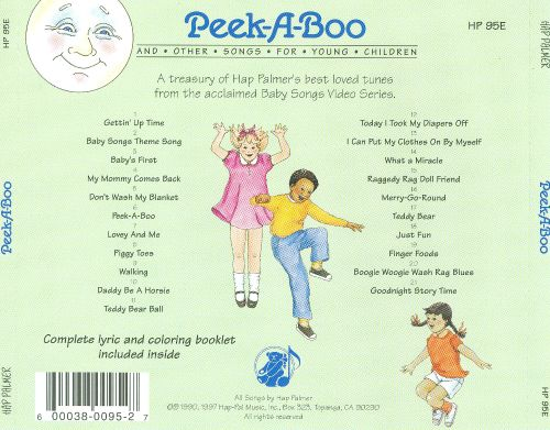 Peek-A-Boo and Other Songs for Young Children