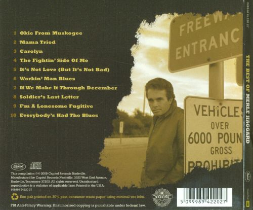 The Best of Merle Haggard [Capitol 2009]