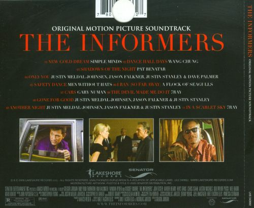 The Informers [Original Motion Picture Score]