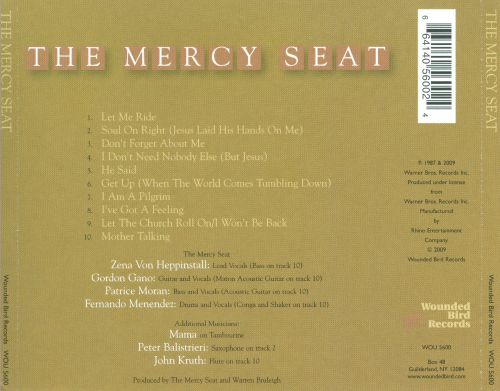 The Mercy Seat The Mercy Seat Songs Reviews Credits