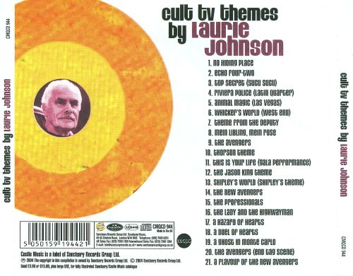 Cult TV Themes by Laurie Johnson