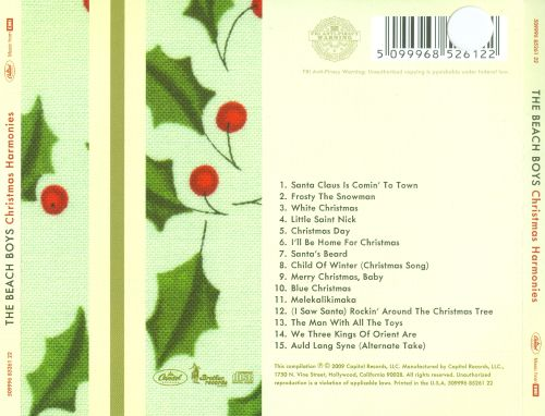 christmas harmonies christmas harmonies - Beach Boys Christmas Song