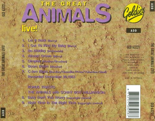 The Great Animals Live