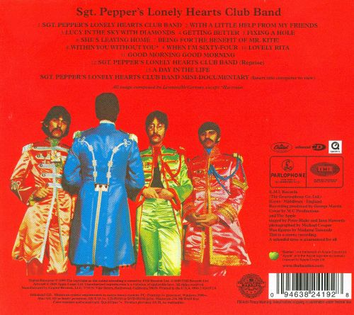 A short review of sgt peppers lonely hearts club band