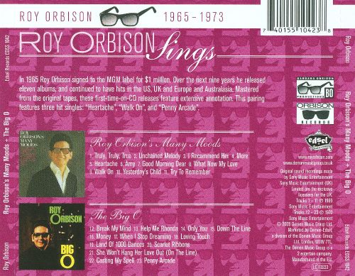 The Many Moods of Roy Orbison/The Big O