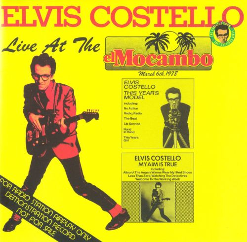 Elvis Costello And The Attractions Tour