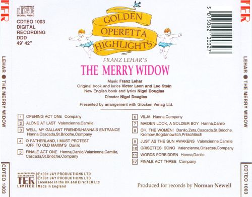Franz Lehar: Merry Widow [Highlights]