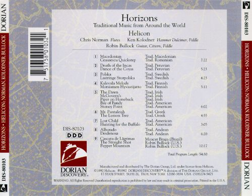 Horizons: Traditional Music from Around the World
