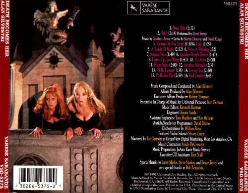 Death Becomes Her [Original Motion Picture Soundtrack]