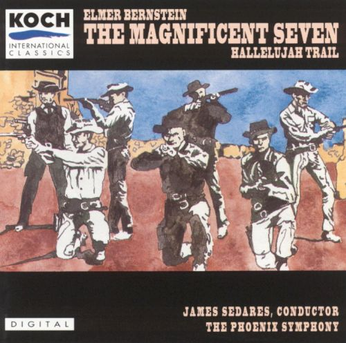the magnificent seven the hallelujah trail elmer bernstein songs reviews credits allmusic. Black Bedroom Furniture Sets. Home Design Ideas