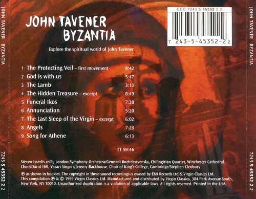 Byzantia: Music of John Tavener