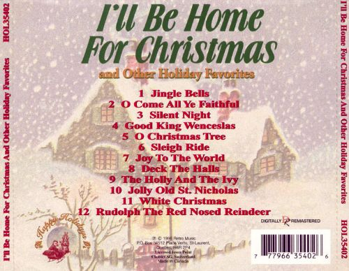 I'll Be Home For Christmas and Other Holiday Favorites