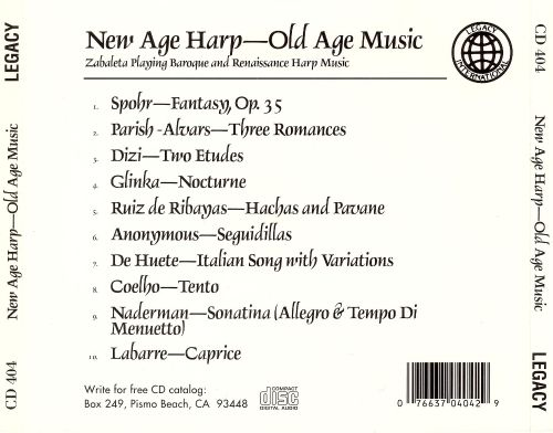 New Age Harp: Old Age Music