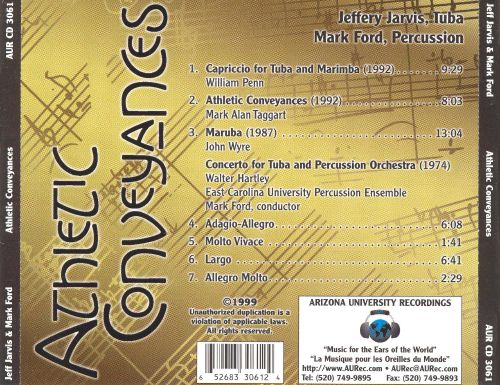 Athletic Conveyances: Music for Tuba & Percussion