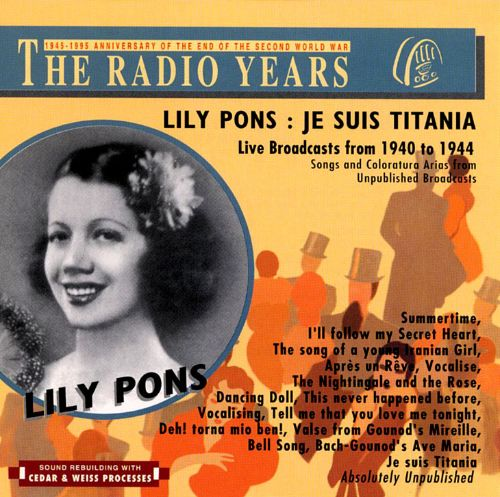 Je Suis Titania: Live Broadcasts from 1940 to 1944