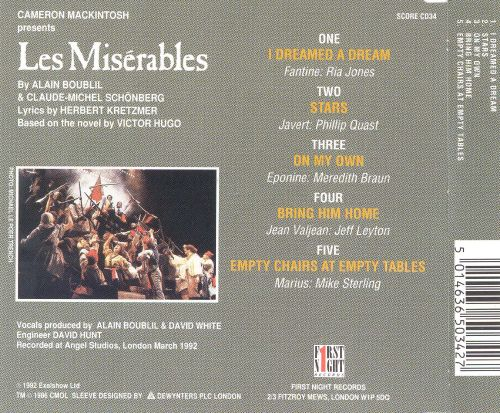 Les Miserables [Manchester Company Highlights]