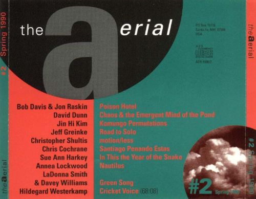 The Aerial: A Journal in Sound, No. 2
