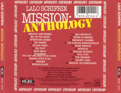 Mission: Anthology (Music from