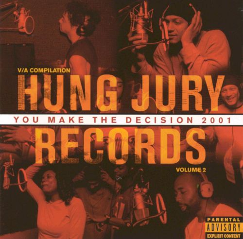 You Make the Decision 2001: Hung Jury Records Compilation, Vol. 2