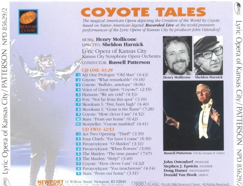 Henry Mollicone: Coyote Tales