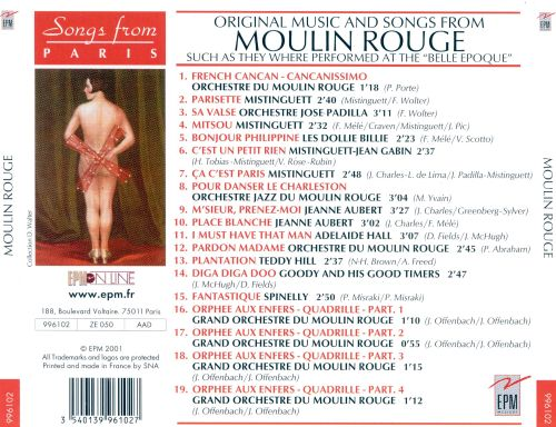 Moulin Rouge: Original Music and Songs