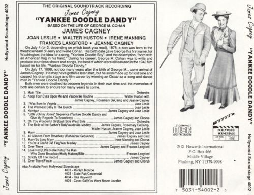 Yankee Doodle Dandy (Songs from the Original Film Soundtrack)