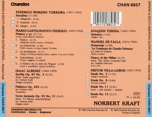 Spanish And South American Guitar Works