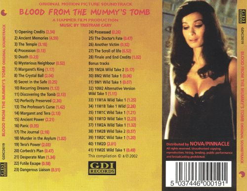 Blood from the Mummy's Tomb [Original Motion Picture Soundtrack]