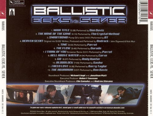 Ballistic: Ecks vs. Sever [Original Motion Picture Score]