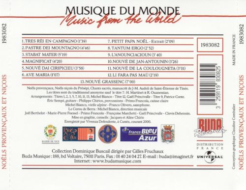 Christmas Carols from Southern France