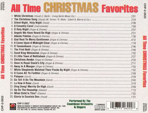 All Time Christmas Favorites [Disc #1]