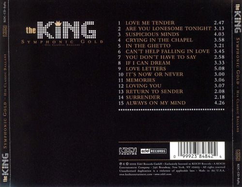 The King: Symphonic Gold