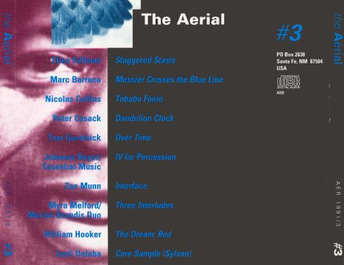 The Aerial: A Journal in Sound, No. 3