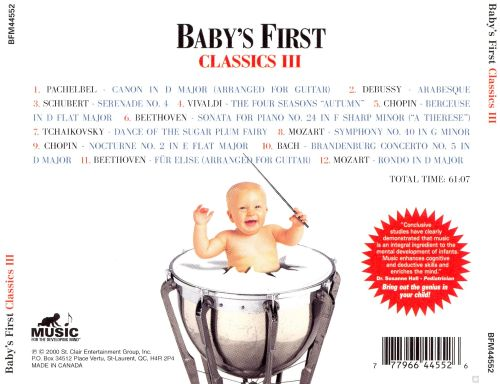 Baby's First: Classics, Vol. 3