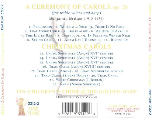 Benjamin Britten: A Ceremony of Carols, Op. 28 & Other Christmas Music