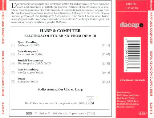 Harp & Computer: Electroacoustic Music from Diem III
