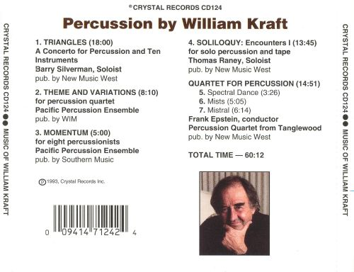 Percussion by William Kraft