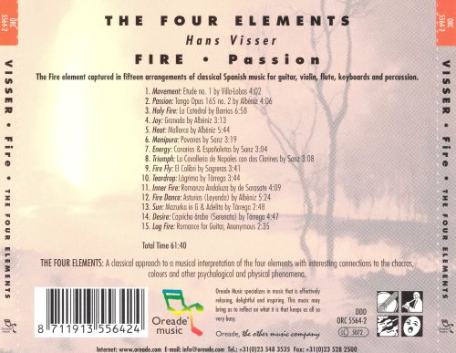 The Four Elements: Fire (Passion)