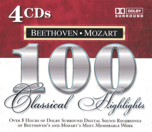 100 Classical Highlights: Beethoven/Mozart