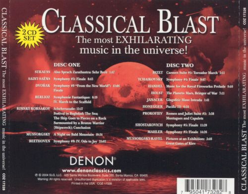 Classical Blast: The Most Exhilarating Music in the Universe!