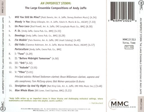 An Imperfect Storm: The Large Jazz Ensemble Compositions of Andy Jaffe