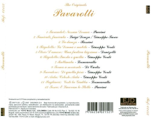 The Originals: Pavarotti Greatest Hits