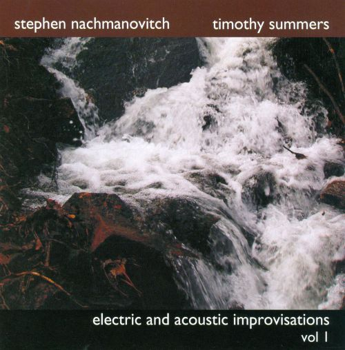 Electric and Acoustic Improvisations, Vol. 1